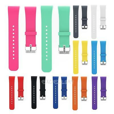 Luxury Soft Silicone Watch Replacement Band Strap For Samsung Gear Fit 2 SM-R360