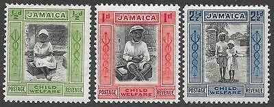 Jamaica 1923 Child Welfare Set (Mint)