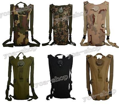 3L Water Bladder Bag Hydration Backpack Camelbak Pack Hiking Camping BY