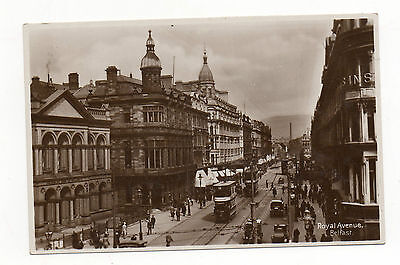 Royal Avenue,belfast.northern Ireland.real Photographic Postcard