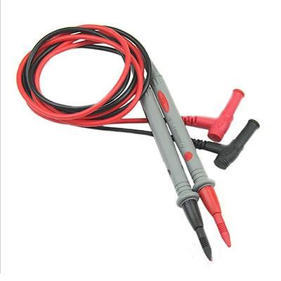 1 Pair Fantastic Universal Digital Multi Meter Test Lead Probe Wire Pen Cable BY