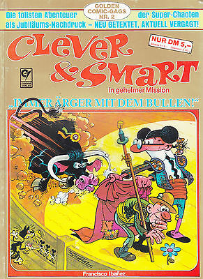 Clever & Smart Nr. 3 Golden Comic-Gags  / 3. Auflage / Comic-Album