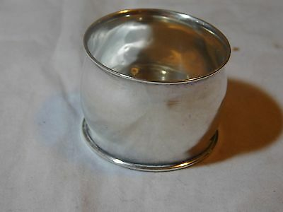 Sterling Silver Wide Napkin Ring