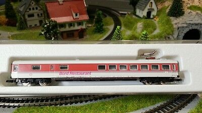 Marklin 8774 Z Scale Euro Restaurant Dining Coach Car *NEW $0 Ship