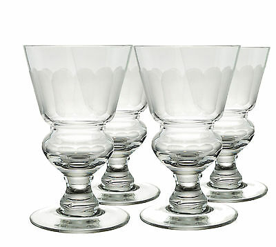 Frosted Pontarlier Absinthe Glasses, Set Of 4, B-Stock