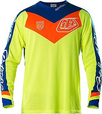 TROY LEE DESIGNS TLD men's EXTRA LARGE motocross SE PRO vented jersey CORSE