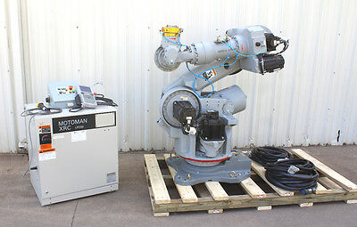 Motoman UP200 Six Axis Robot 200Kg Payload XRC Control, Teach Pendant Low Hours