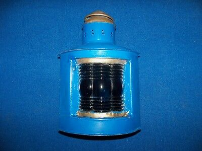 Antique Metal Maritime Marine Nautical Ships Lantern Lamp Light