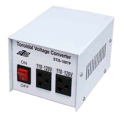 100 WATT USA ISOLATED STEP DOWN TRANSFORMER 240V To 120V By 8ZED