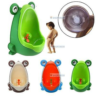 Frog Children Potty Toilet Training Kids Urinal for Boys Pee Trainer Bathroom BT