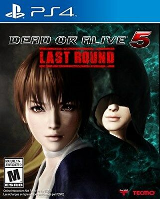 Playstation 4 Ps4 Game Dead Or Alive 5 Last Round Brand New And Sealed
