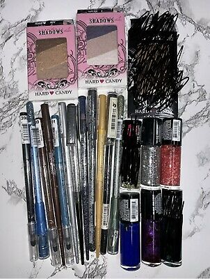 Hard Candy 30 New Makeup Items NO DUPLICATES Pretty Variety WHOLESALE LOT Gift
