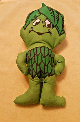 Vintage 1970's Little Sprout Of Jolly Green Giant Promotional Advertisement Doll
