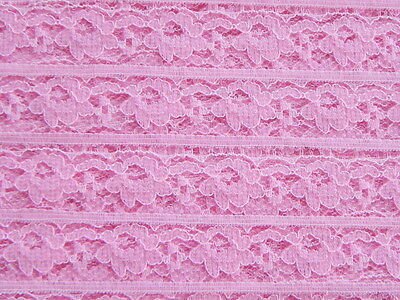 Roll of New Pink Lace