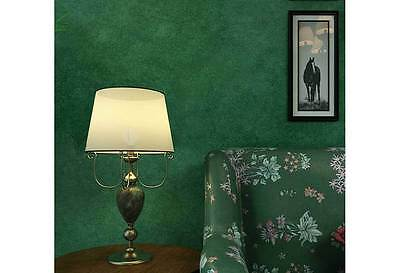 Vintage Textured GREEN Wallpaper Country Retro Wall paper