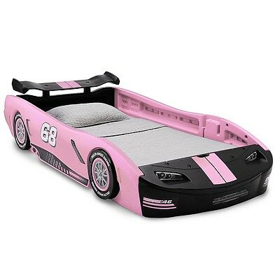 Turbo Race Car Twin Bed - Pink