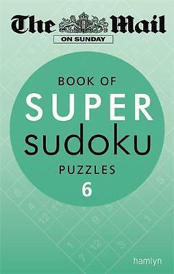 Book of Super Sudoku Puzzles: 6, Daily Mail