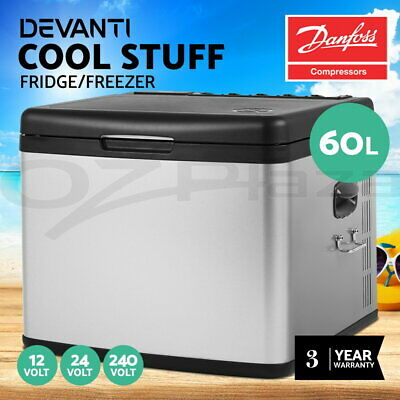 15L Portable Freezer Fridge Camping Car Boat Caravan Cooler Refrigerator Danfoss