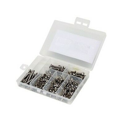 Dynamite Stainless Steel Screw Set - 2mm & 3mm Variety Pack #DYNH3000