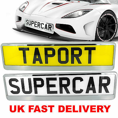 Car Number Plate Surround Trim Holder FOR ANY CAR OR TRUCK VAN OR TRAILER TUNING