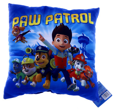New Official Childrens Blue Paw Patrol Cushion Pillow
