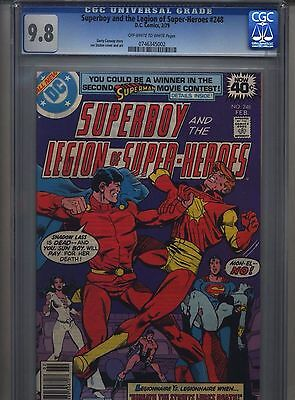Superboy #248 CGC 9.8 (1979) & Legion of Super-Heroes Highest Grade
