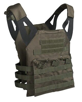 Plate Carrier Weste Gen.ii Oliv Army Military Airsoft Paintball Kampfweste Neu