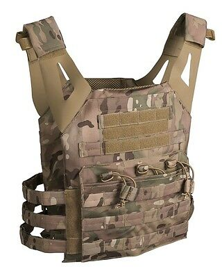 Plate Carrier Weste Gen.ii Multicam Army Military Airsoft Paintball Kampfweste