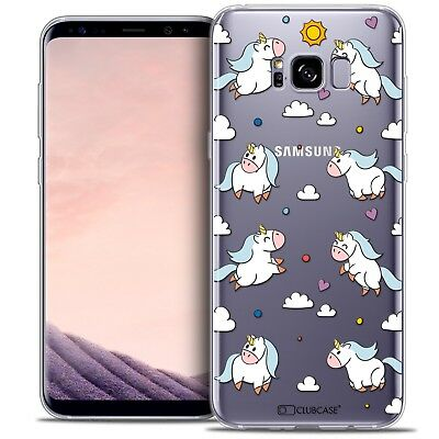 Coque Crystal Gel Samsung Galaxy S8 (G950) Extra Fine Souple Fantasia Licorne In
