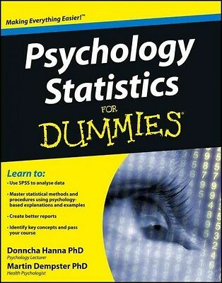 Psychology Statistics For Dummies, Donncha Hanna