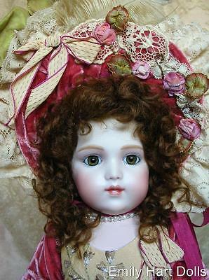 Bru Brevete porcelain doll HEAD ONLY by Emily Hart Grandmaster of Dollmaking