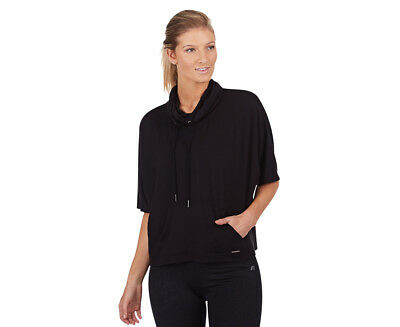 Russell Athletic Women's Warm Up Poncho - Black