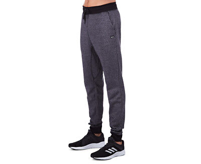 Russell Athletic Men's Twisted Marle Pant - Black Marle