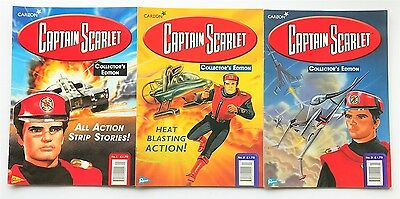 Captain Scarlet Collector's Edition Comic Book No.1 No.2 No.3 Comics - Year 1999