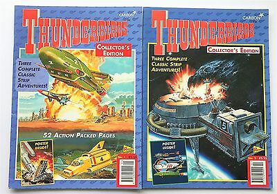 Thunderbirds Collector's Edition Comic Book No.1 and No.2 Comics - Year 1999