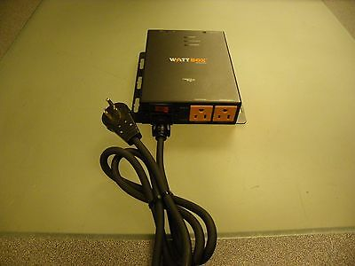 WattBox WB-200-IPCE-3 IP Controllable Compact Power Conditioner