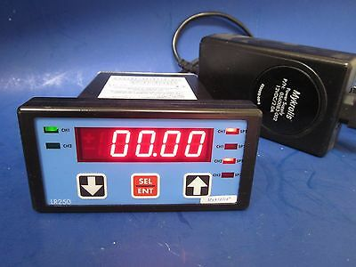 Mykrolis LR250 2-Channel Display Controller LR250-1-1-2-12 with Power Supply