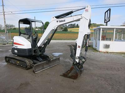 2014 Bobcat E35I  Mini Excavator, ONLY 254 Hrs!!, 2 Speed, AUX Hydraulic, 31 HP