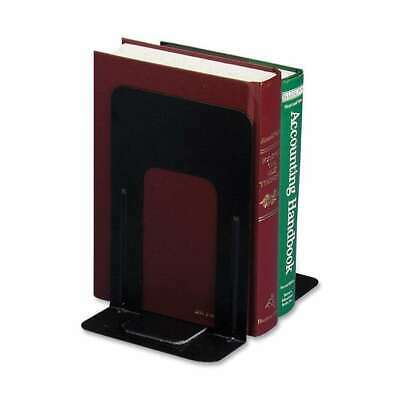 Officemate Nonskid Bookends, Black - OIC93051
