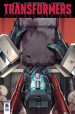 TRANSFORMERS TILL ALL ARE ONE #6 SUBSCRIPTION VARIANT (IDW 2016 1st Print)