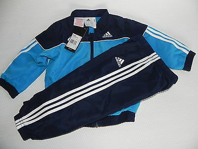 Adidas Jogging Tracksuit IJ Woven Suit for kids Blue New