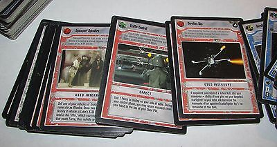 195 Lot of Star Wars Trading Cards 1995 Decipher Lucasfilm