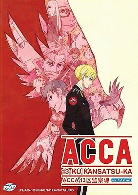 ACCA 13-KU KANSATSU-KA | Eps. 01-13 | English Subs | 1 DVD (VS00123)-LU