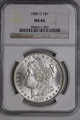 1885 O Morgan Silver Dollar MS66 NGC United States Mint White Coin