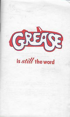 Grease. Is Still The Word.Screenplay Reproduction.Excellent Condition. Softcover