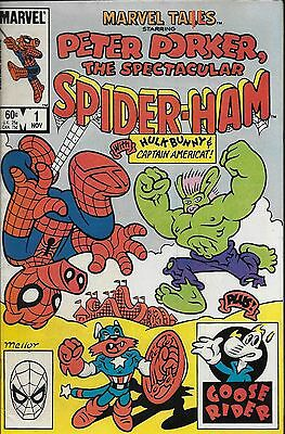 Marvel Tails starring Peter Porker The Spectacular Spider-Ham No.1 / 1983