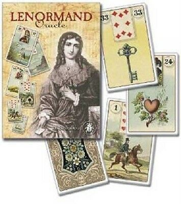 Lenormand Oracle Cards Lo Scarabeo Fortune Telling Deck Tarot Runes Wicca