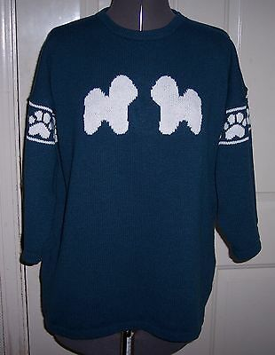 Custom Knitted Bichon Frise Sweater Create your own read below