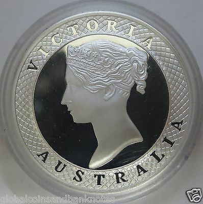 Cook Islands 2008 - 1850s Taylors Sixpence Pattern.. 1oz Silver Proof