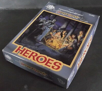 Ral partha Dungeons & dragons Dragonlance Heroes boxed set 10-502 Very Rare